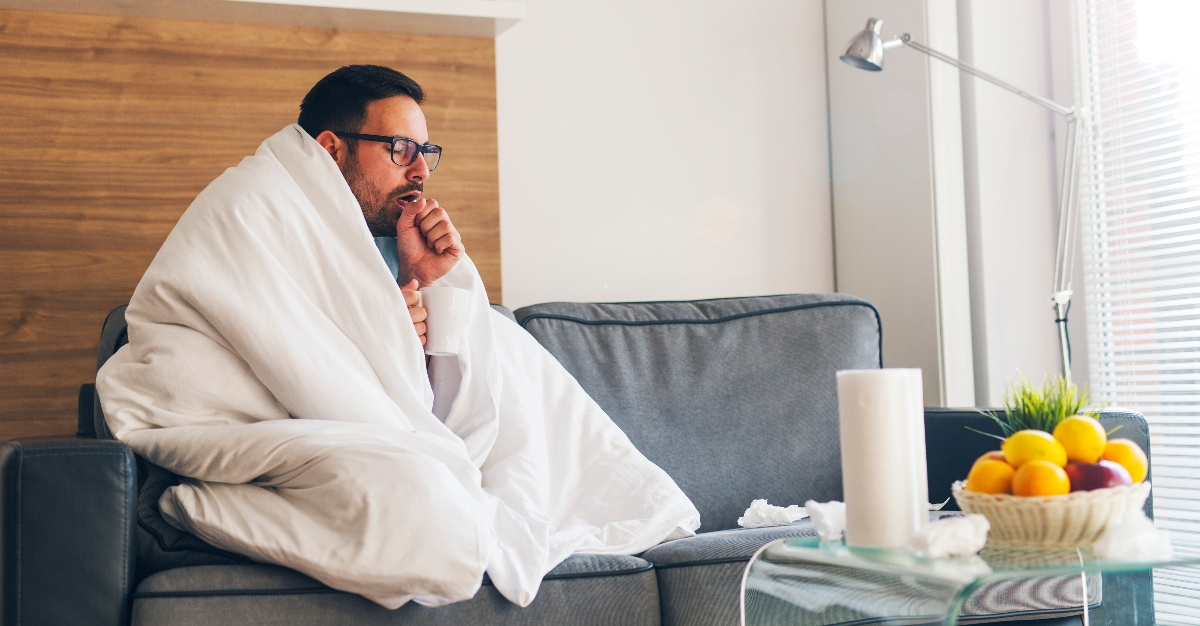 It may be harder than you think to have a cold and the flu at the same time.