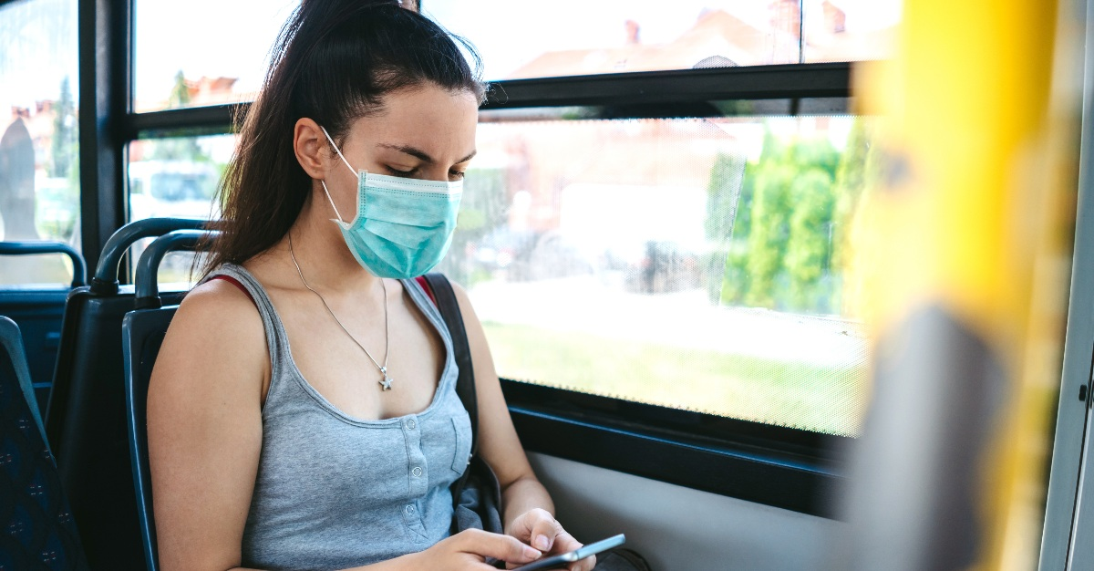 During the flu season and viral outbreaks, many people wear face masks to fight the virus.