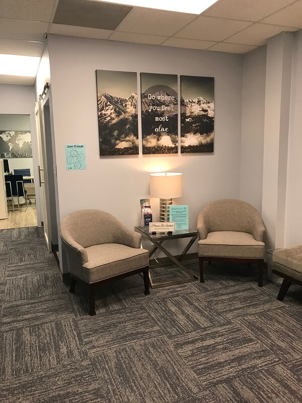 Charlotte travel clinic waiting room