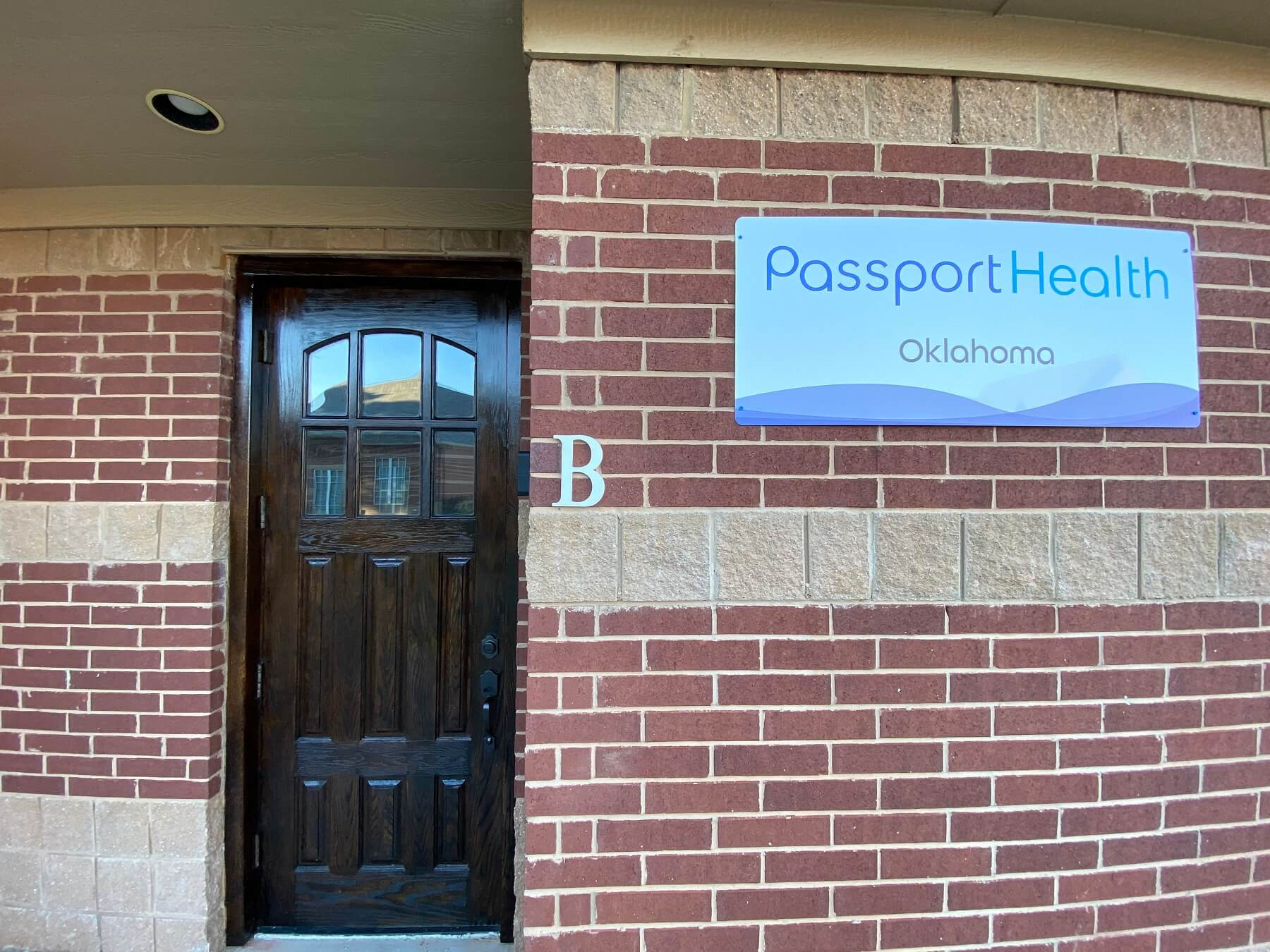 Passport Health Edmond Oklahoma building entrance
