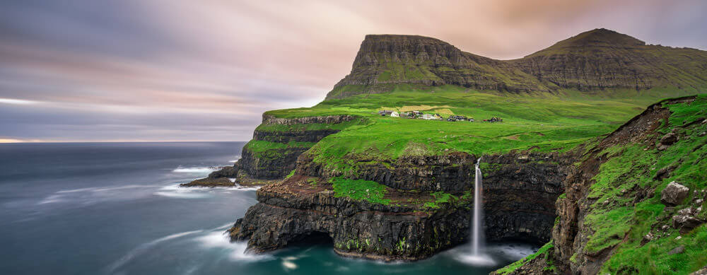 Waterfalls and more provide must-see vistas for travelers to the Faroe Islands. See them worry-free with advice, medications and more from Passport Health.