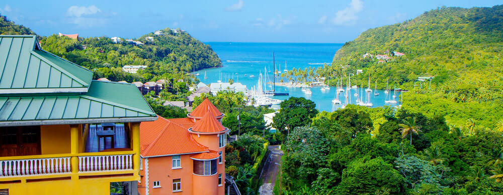 Calm beaches and clear waters make St. Lucia a must visit. Passport Health offers vaccines and more to help you travel safely.