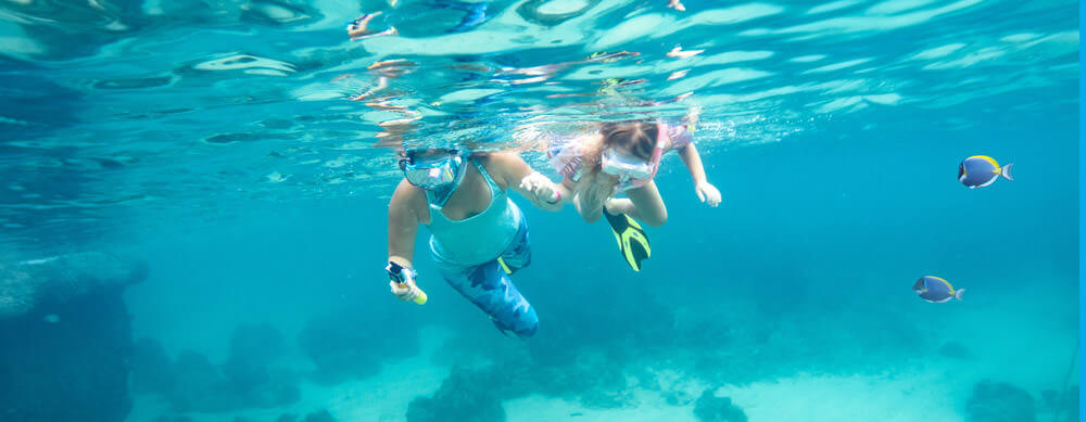 Snorkeling is just one amazing activity at Wake Island. See it all while staying healthy with help from Passport Health vaccination and consultation services.