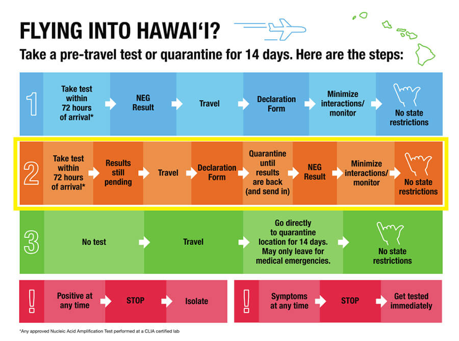 Hawaii COVID-19 restrictions make travel easier than many thought.