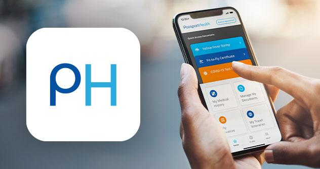 Passport Health App
